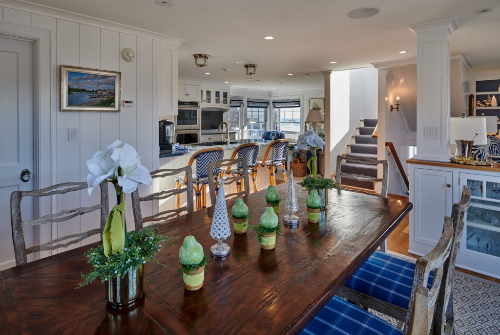 SeaView Maine rental property - Kennebunk Maine, Dining Room View Two